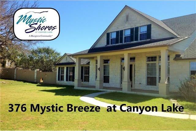 376 Mystic Breeze, Spring Branch, TX 78070