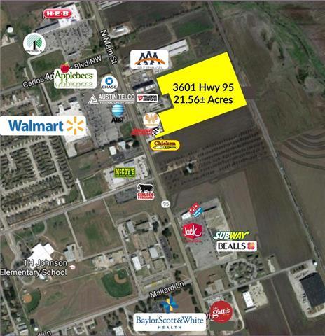 3601 N Main St, Taylor, TX 76574
