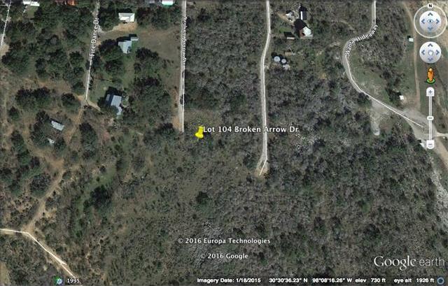 Lot 104 Broken Arrow Dr, Spicewood, TX 78669