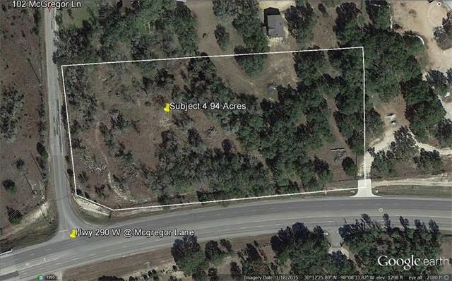 Lot 2 Us Hwy 290 W@ Mcgregor Rd, Dripping Springs, TX 78620