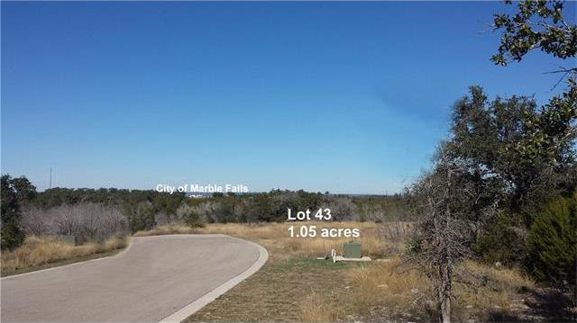 Lot 43 Capstone Dr, Marble Falls, TX 78654
