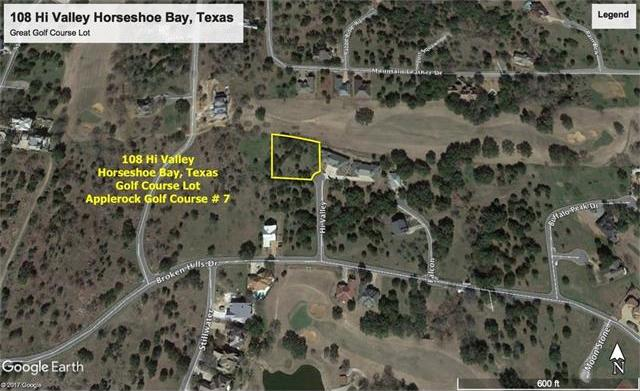 108 Hi Valley, Horseshoe Bay, TX 78657