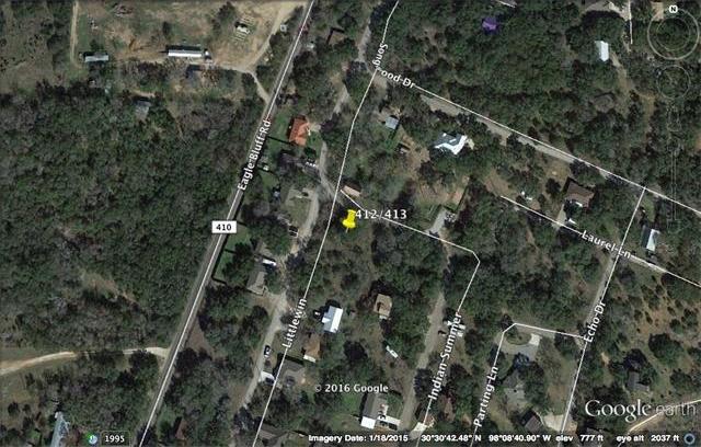 Lots 412/413 Littlewin, Spicewood, TX 78669