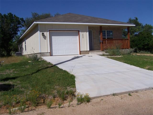 233 Oakhill Dr, Granite Shoals, TX 78654