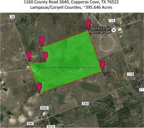 1160 County Road 3640, Lampasas, TX 76522