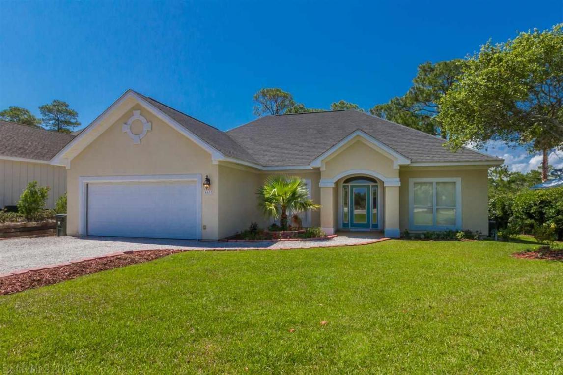 4633 Bayou Court, Orange Beach, AL 36561