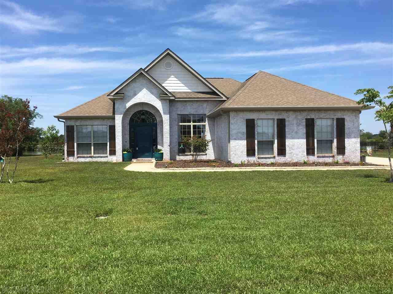 Beautiful Home On the Lake FOR SALE at 638 Royal Troon Circle, Gulf Shores AL