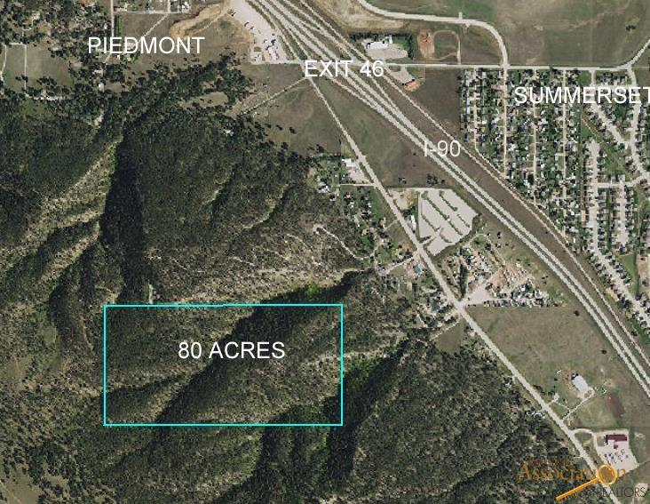 TBD Not Applicable 80 Acres - Borders Usfs, Piedmont, SD 57769
