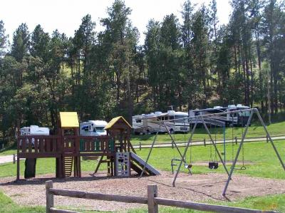 Photo of 24631 Iron Mountain Rd Spokane Creek Cabins & Campground, Keystone, SD 57751
