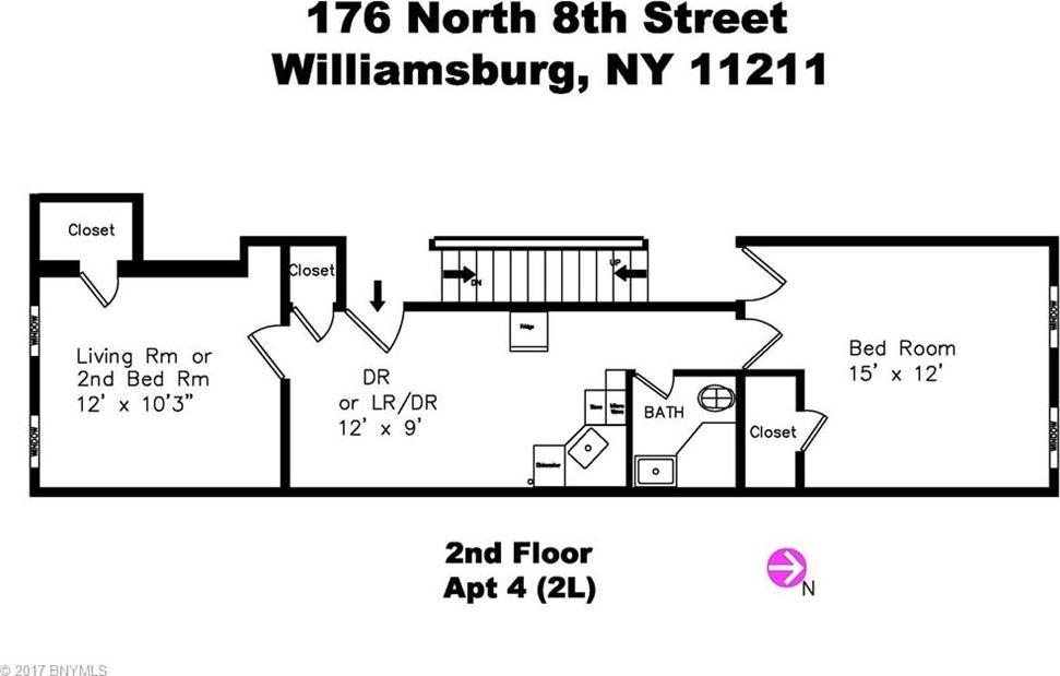 176 North 8 Street #4, New York, NY 11211