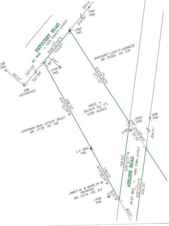 Airline Road, Lot #3, Dennis, MA 02660