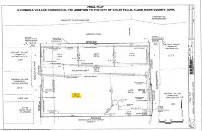 Photo of Lot 4 Greenhill Village Commercial, Cedar Falls, IA 50613
