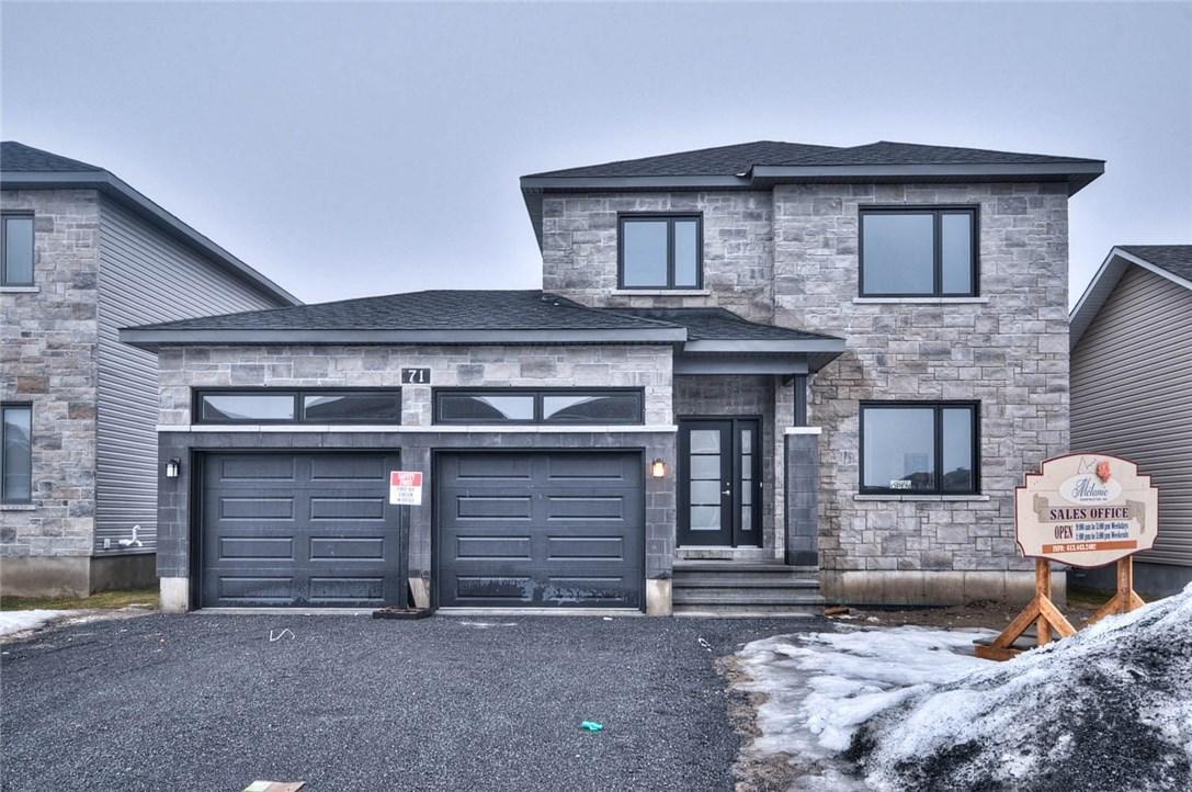 91 Cobblestone Drive, Russell, Ontario K4R1A1