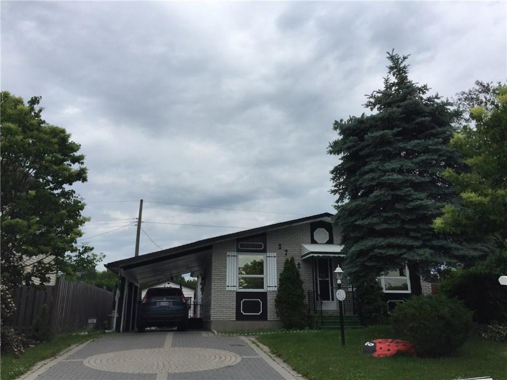 2702 Hickson Crescent, Ottawa, Ontario K2H2Y2