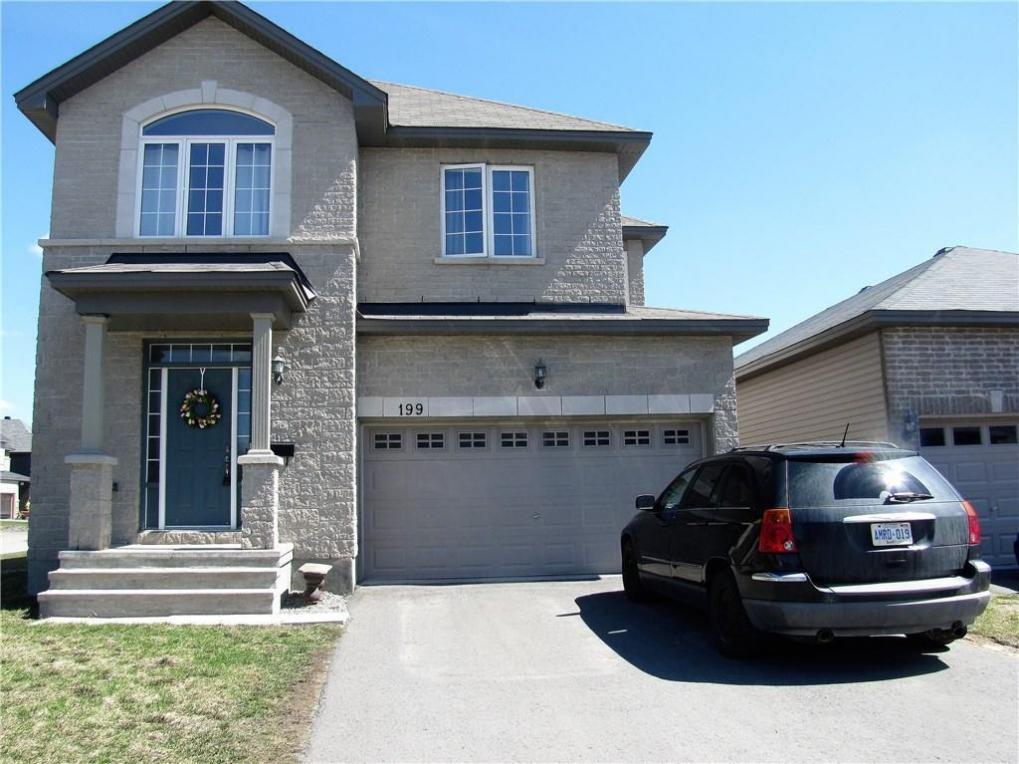 199 Dave Smith Crescent, Ottawa, Ontario K4M0B7