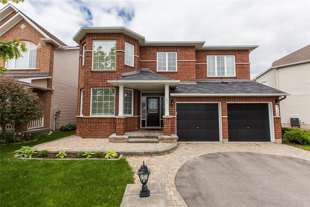116 Ballance Drive, Ottawa, Ontario K4A4N7