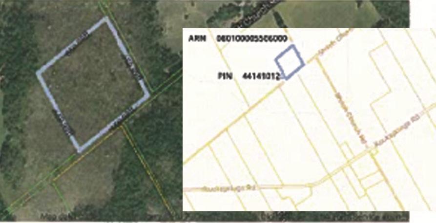Pt Lt 7 Concession 11 Township, Elizabethtown, Ontario K0G1R0