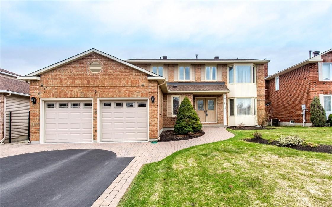 1412 Bourcier Drive, Ottawa, Ontario K1E3K9