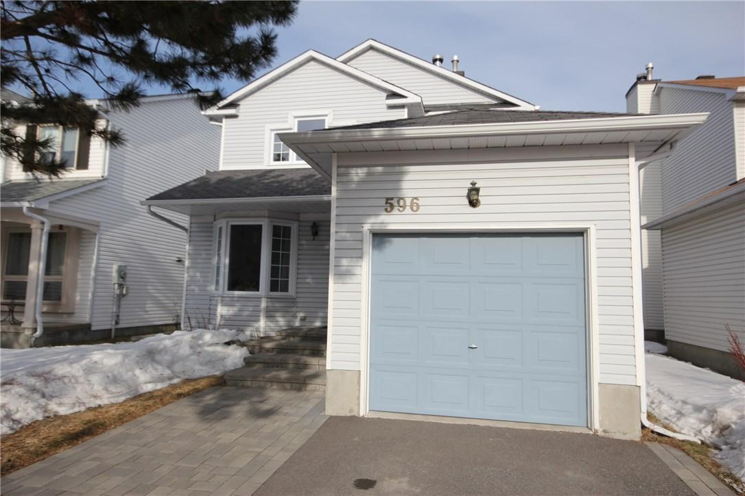 596 Deancourt Crescent, Ottawa, Ontario K4A3G5