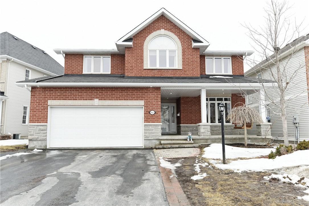 43 Franklin Cathcart Crescent, Stittsville, Ontario K2S2A5