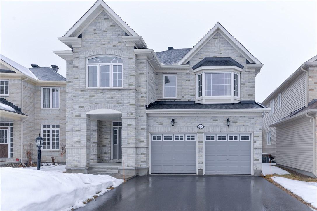 514 Pinawa Circle, Ottawa, Ontario K2J5Y2
