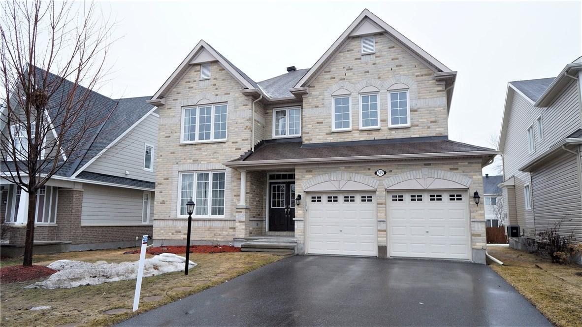 565 Kilbirnie Drive, Ottawa, Ontario K2J0G3