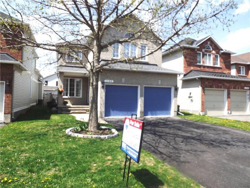 1140 Rocky Harbour Crescent, Ottawa, Ontario K1V1V1