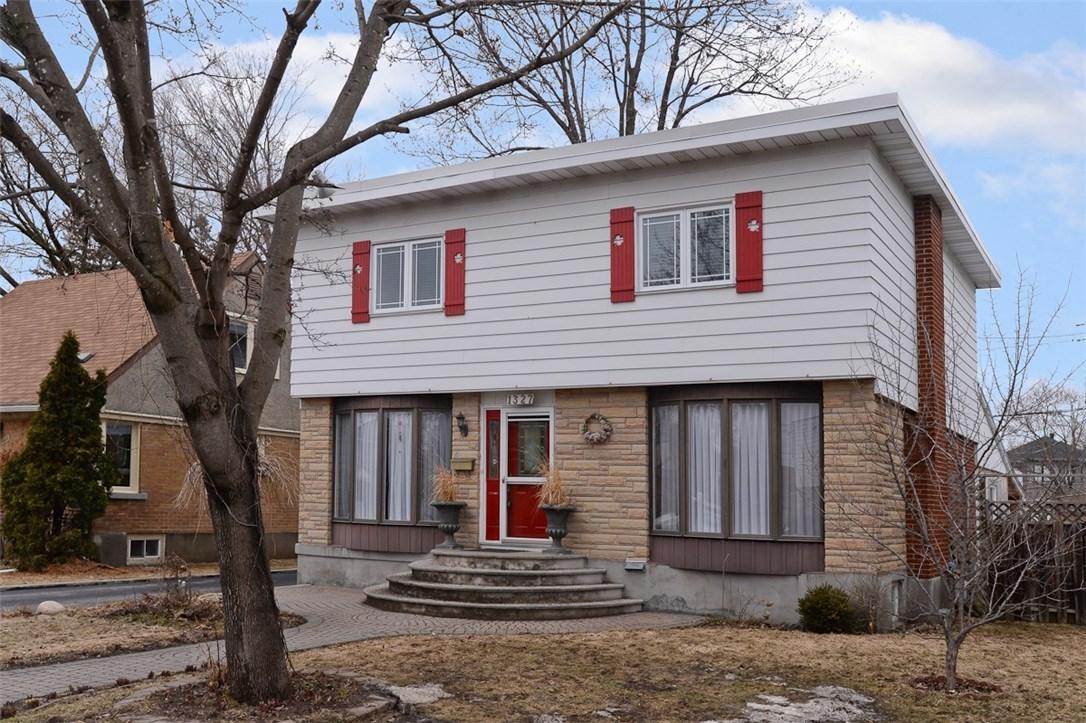 1327 Woodward Avenue, Ottawa, Ontario K1Z7V7