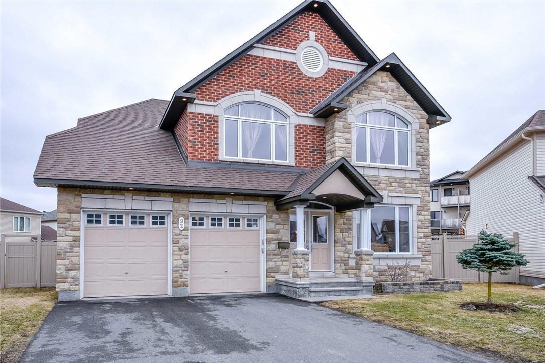 92 Cormack Circle, Ottawa, Ontario K2J5R9