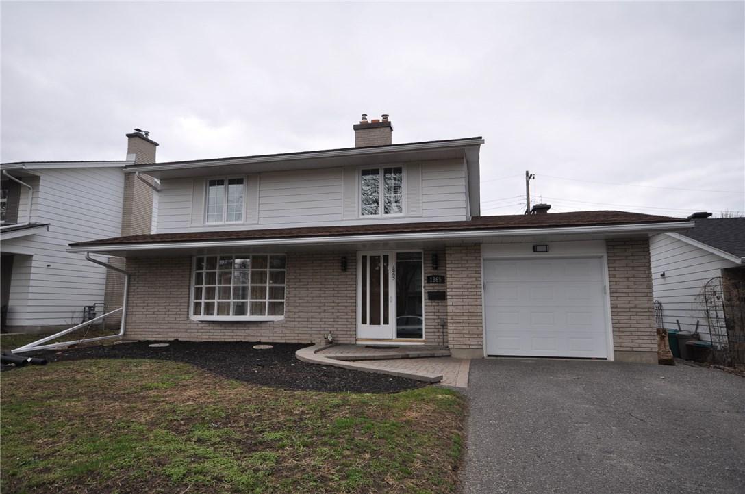 1865 Devlin Crescent, Ottawa, Ontario K1H5T5
