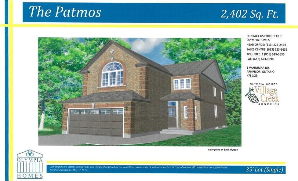 300 Bert Hall Street, Arnprior, Ontario K7S3G9