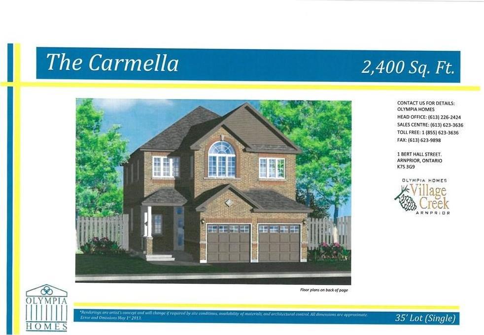 280 Bert Hall Street, Arnprior, Ontario K7S3G9