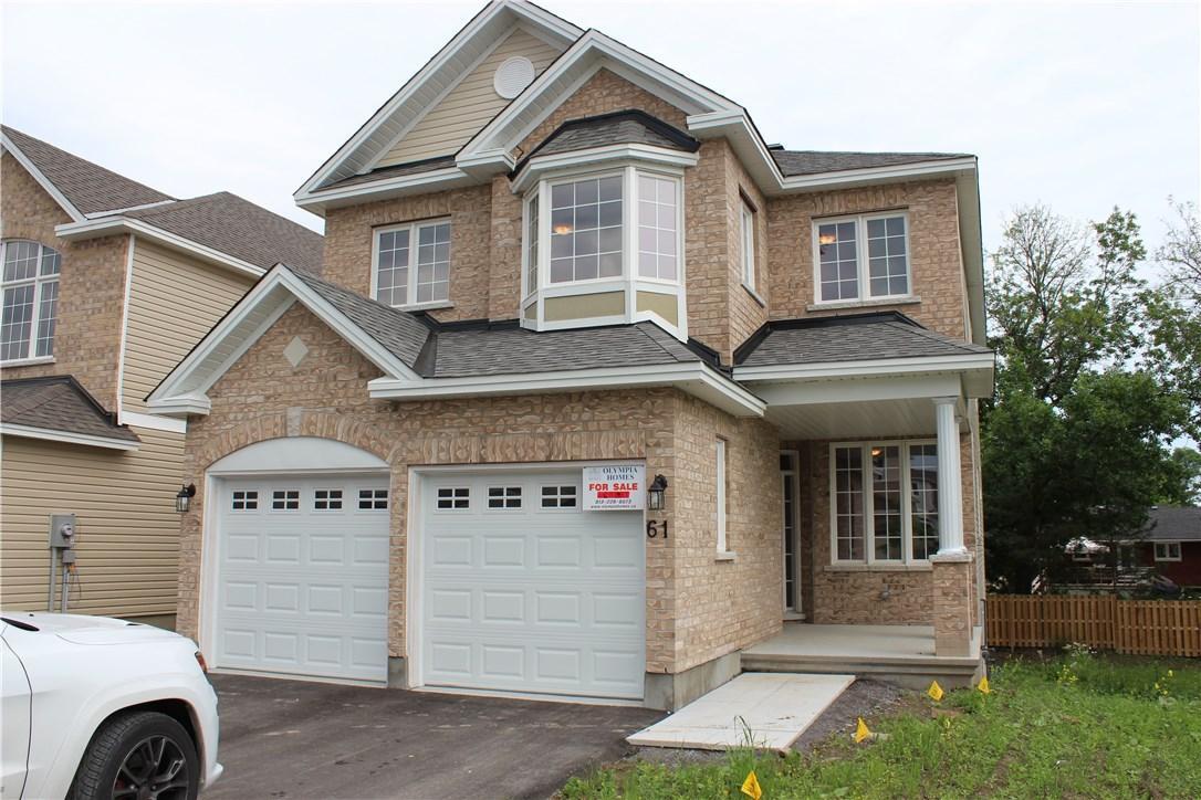 61 Bert Hall Street, Arnprior, Ontario K7S3G9