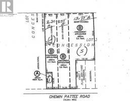 - Pattee Road, Hawkesbury, Ontario K6A2R2
