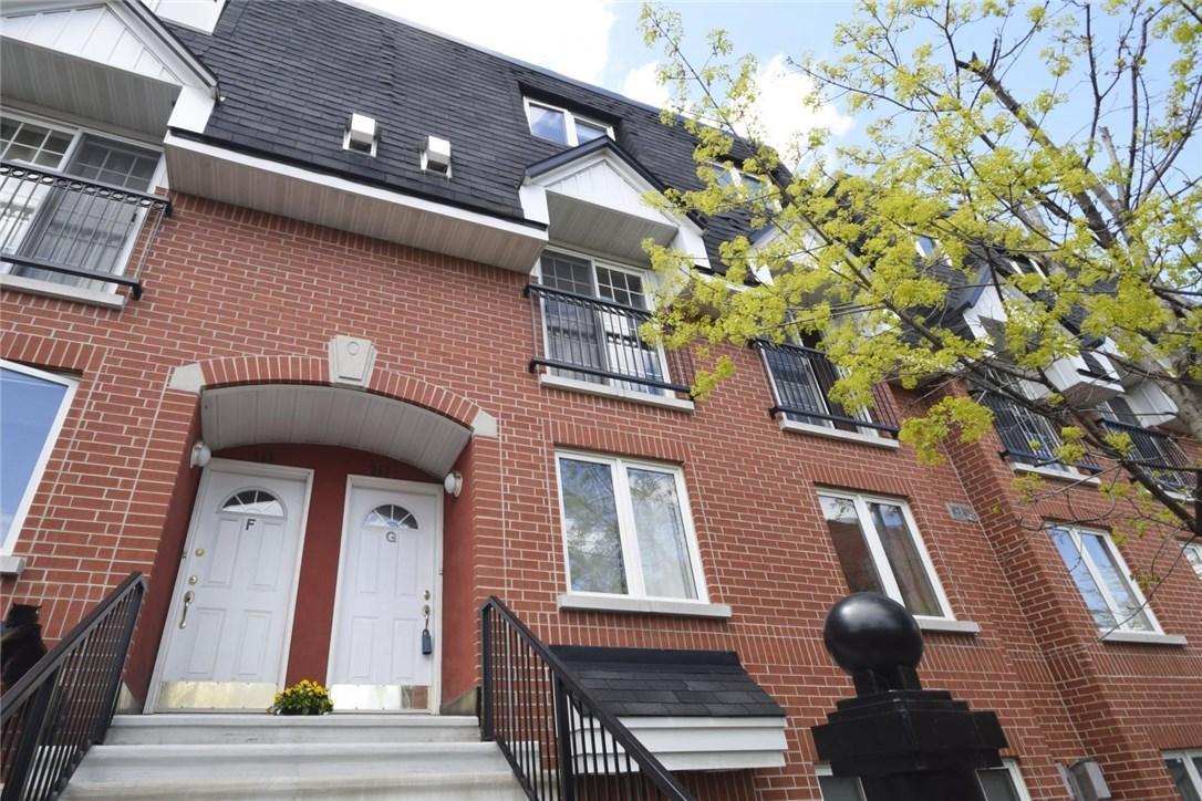 313 St. Patrick Street Unit#g, Ottawa, Ontario K1N5K6