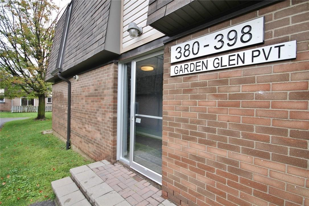 396 Garden Glen Private, Ottawa, Ontario K2G1E4