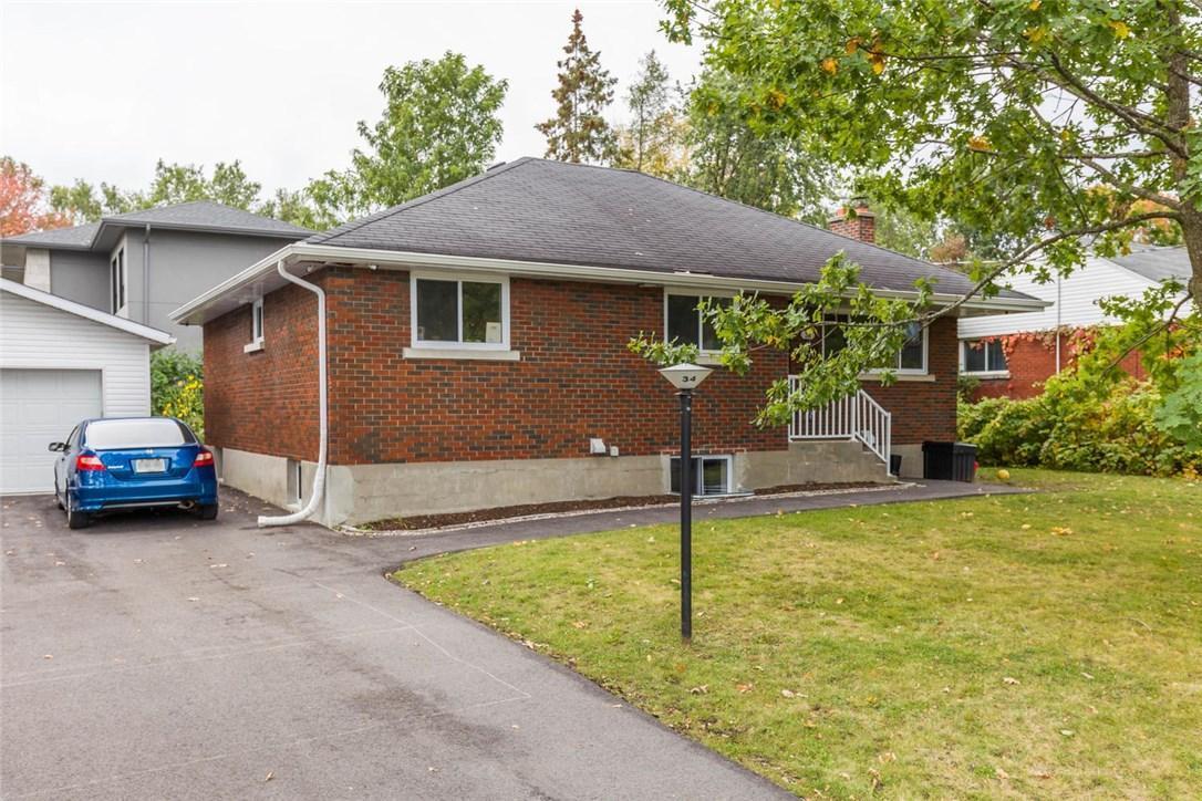 34 Westwood Drive, Ottawa, Ontario K2G2X1