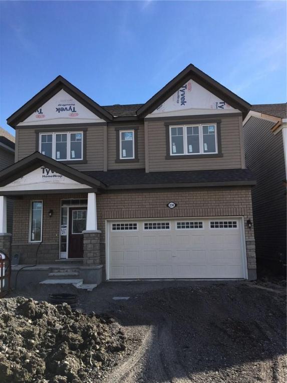 230 Brassy Minnow Crescent, Ottawa, Ontario K2J6J8