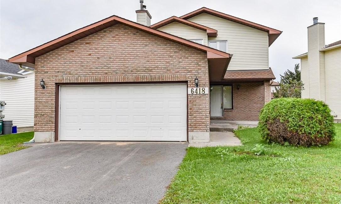 6418 Viseneau Drive, Orleans, Ontario K1C5J2