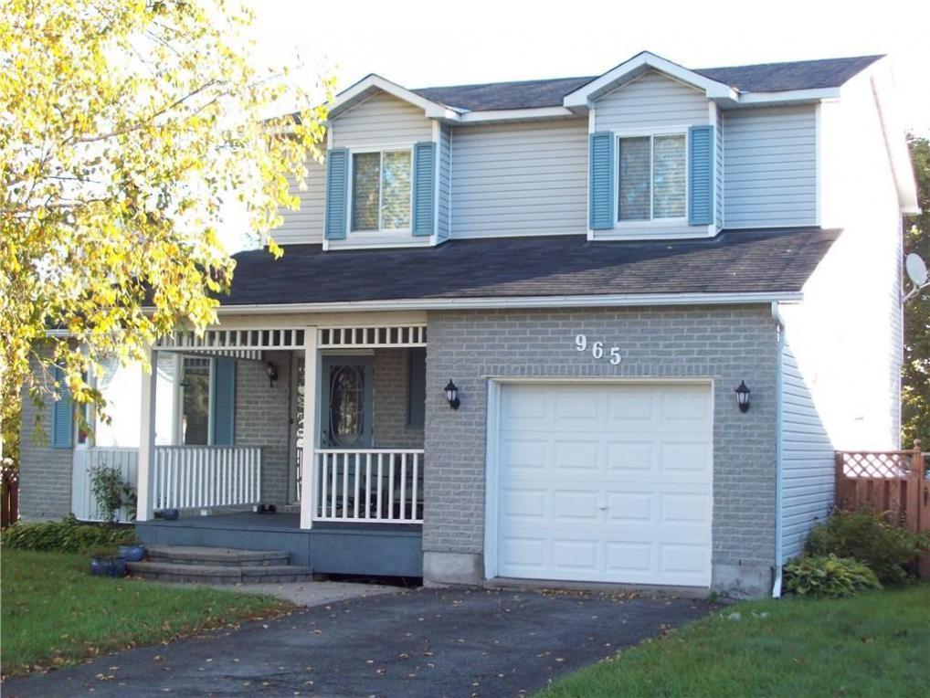 965 Belvedere Avenue, Rockland, Ontario K4K1H3