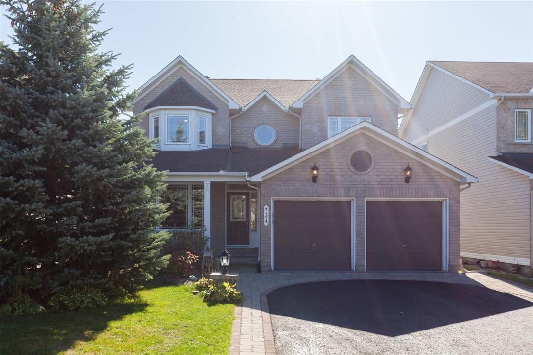 734 Schubert Circle, Ottawa, Ontario K4A4W3