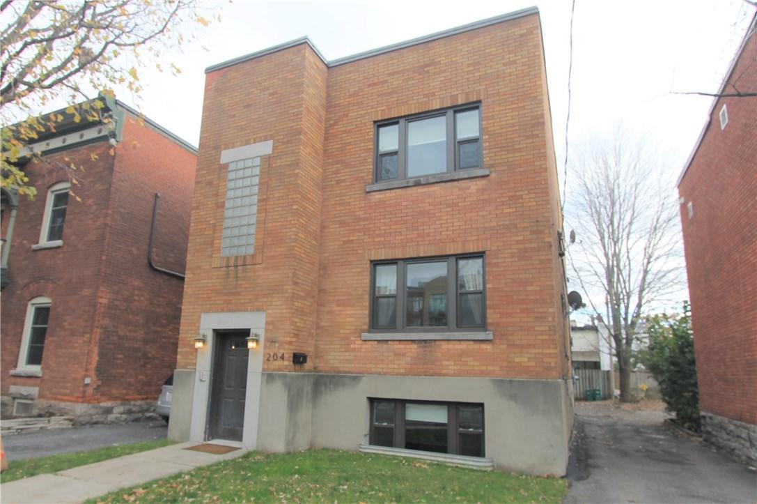 204 Bolton Street Unit#2, Ottawa, Ontario K1N5B3