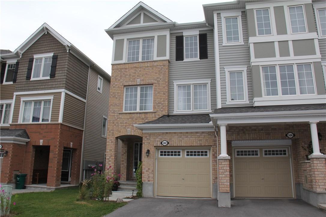 502 Coldwater Crescent, Ottawa, Ontario K2M0J4