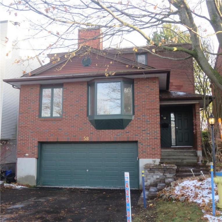 58 Gillespie Crescent, Ottawa, Ontario K1V0J4