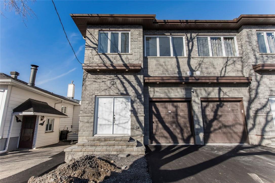 183 Glynn Avenue Unit#a, Ottawa, Ontario K1K1S4