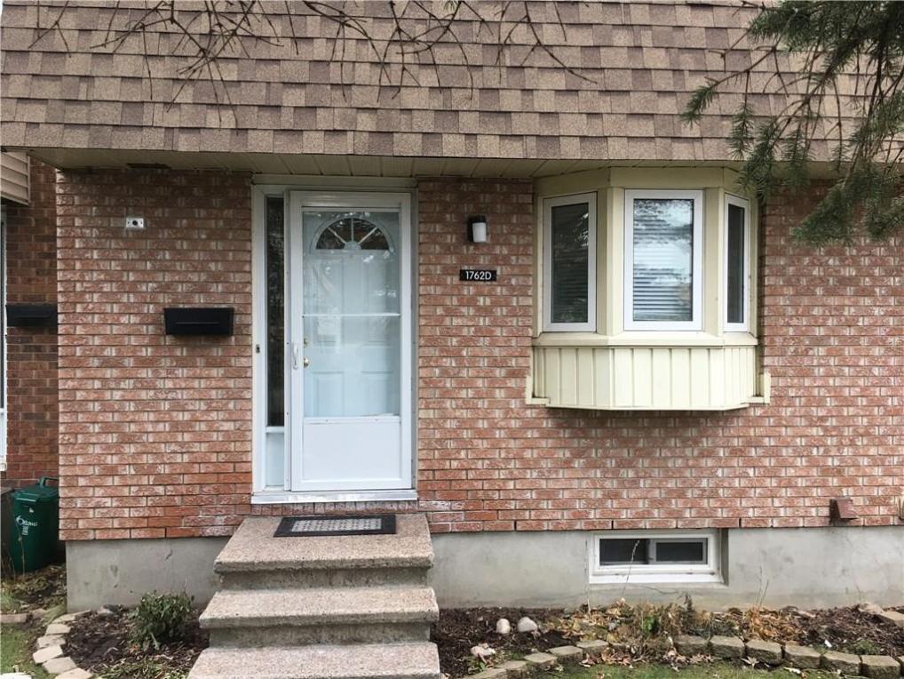 1762 Lamoureux Drive Unit#d, Ottawa, Ontario K1E2N4
