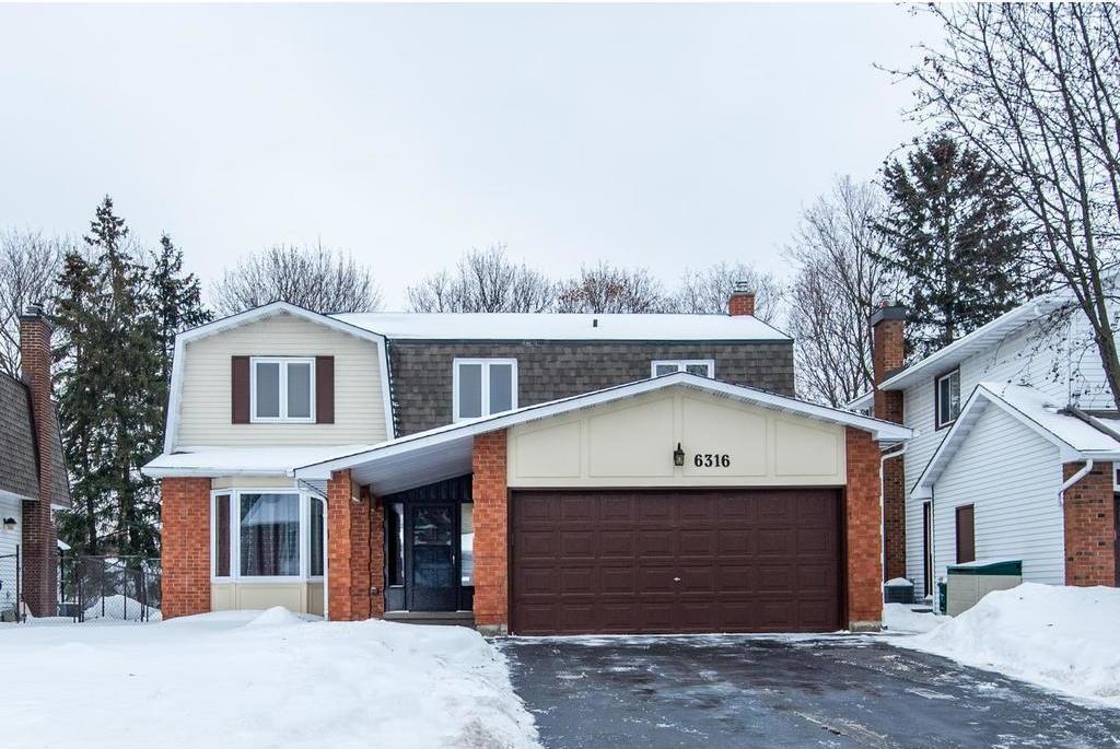 6316 Fortune Drive, Ottawa, Ontario K1C1Z1