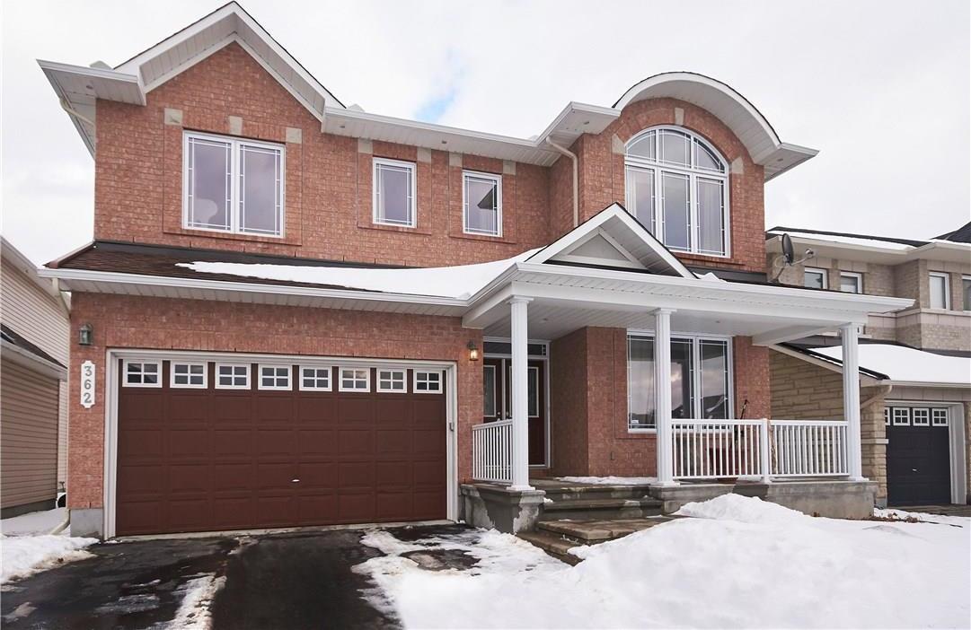 362 Oakcrest Way, Ottawa, Ontario K4A0S5