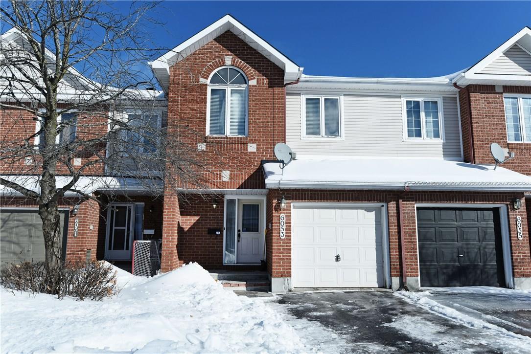 6053 Pineglade Crescent, Ottawa, Ontario K1W1H1