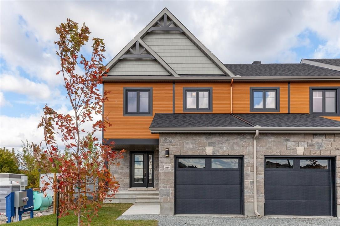 2382 Marble Crescent, Rockland, Ontario K4K0H1